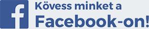 Kövess minket a Facebook-on!
